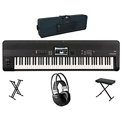 Korg Krome 88-Key Workstation Package 1 (KORGKROME88WP1)