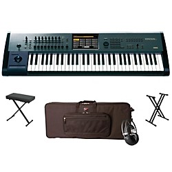 Korg Kronos X 61-Key Workstation Package 1 (KORGKRONOSX61WP1)