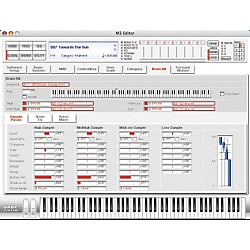 Korg M3 73-Key Music Workstation Keyboard (M373 Refurb)