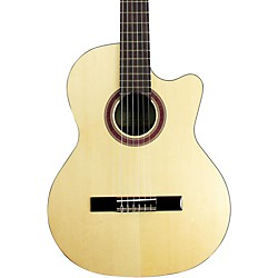 Kremona Rondo Cutaway Acoustic-Electric Classical Guitar with Hardshell Case (Rondo R65CW)