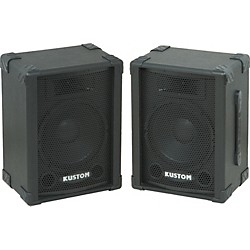 "Kustom KPC10 10"" PA Speaker Cabinet with Horn Pair (KIT773292)"