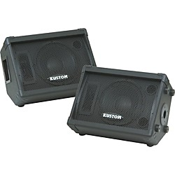 "Kustom KPC10M 10"" Monitor Speaker Cabinet with Horn Pair (KIT773296)"