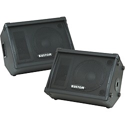 Kustom KPC12M 12IN Monitor Speaker Cab with Horn Pair (Kit-600552)