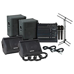 Kustom KPC15 Phonic 1860 PA/Monitor Package (KPC15 1860 PA Monitor Pkg)