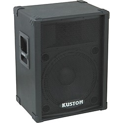 "Kustom PA KPC15 15"" PA Speaker Cabinet with Horn (USED004000 KPC15)"
