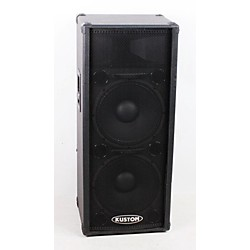 "Kustom PA KPC215H 2x15"" PA Speaker Cabinet with Horn (USED005083 KPC215H)"