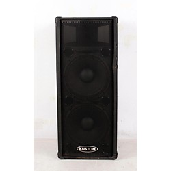 "Kustom PA KPC215H 2x15"" PA Speaker Cabinet with Horn (USED006090 KPC215H)"