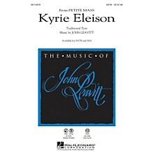 Hal Leonard Kyrie Eleison (from Petite Mass) SATB composed by John Leavitt