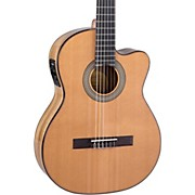 Lucero LC235SCE Acoustic-Electric Exotic Wood Classical Guitar