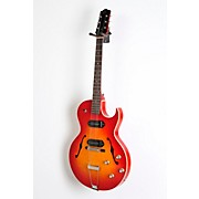 The Loar LH-302T Thinbody Archtop Cutway P90 Electric Guitar