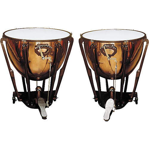 Ludwig LKS402PG Stand Polished Copper Timp Set