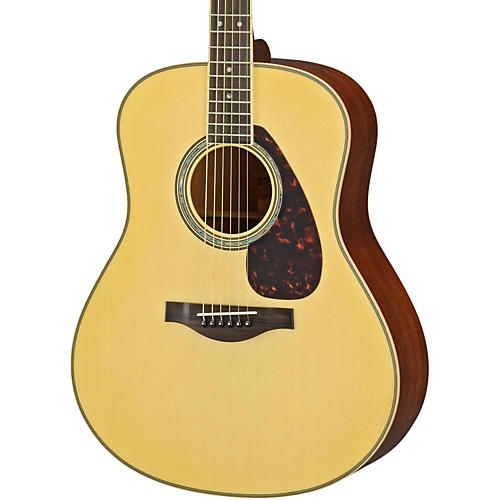 Yamaha LL16M L Series Solid Mahogany/Spruce Dreadnought Acoustic-Electric Guitar-thumbnail