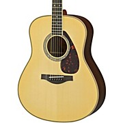 Yamaha LL16R L Series Solid Rosewood/Spruce Dreadnought Acoustic-Electric Guitar
