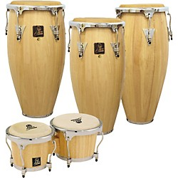 LP Aspire 3-Piece Conga Set with Free Bongos! (LP-Aspire-4-pcSet)