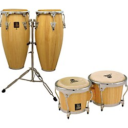 LP Aspire Congas with Free Bongos (kit-444769)