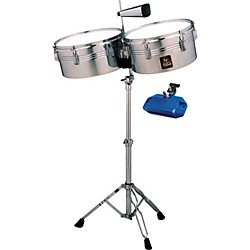 LP Aspire Timbale Set with High Pitch Jam Block (KIT760292)