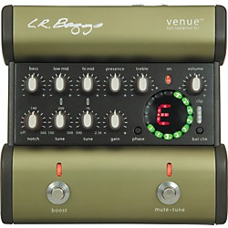 LR Baggs Venue DI Acoustic Guitar Direct Box and Preamp (VENUE DI)
