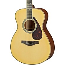 Yamaha LS16M L Series Solid Mahogany/Spruce Concert Acoustic-Electric Guitar