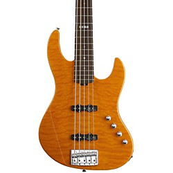 LTD E-II J-5 5 String Electric Bass Guitar (EIIJ5QMAMB)