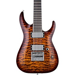 LTD LTD KS-7 Ken Susi 7 String Electric Guitar (LKS7QMETDBSB)