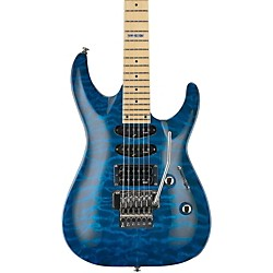 LTD LTD MH-103 Quilted Maple Electric Guitar (LMH103QMSTB)