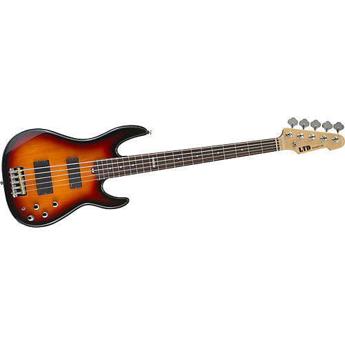 ESP LTD SURVEYOR-415 5-String Electric Bass Guitar 3-Color Burst