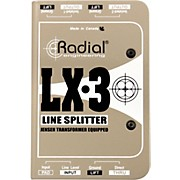 Radial Engineering LX-3 Passive 3 Channel Line Splitter