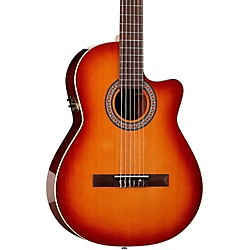 La Patrie Hybrid CW Nylon-String Acoustic-Electric Guitar (28740)