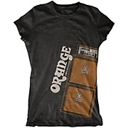 Orange Amplifiers Ladies Stack T-Shirt