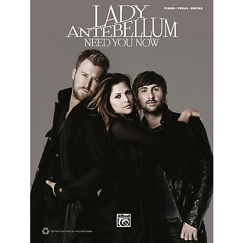 Alfred Lady Antebellum Need You Now PVC Book-thumbnail