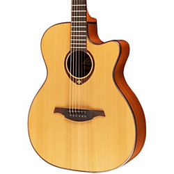 Lag Guitars T200ACE Auditorium Cutaway Acoustic-Electric Guitar (T200ACE)