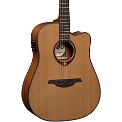 Lag Guitars T200DCE Dreadnought Cutaway Acoustic-Electric Guitar (T200DCE)