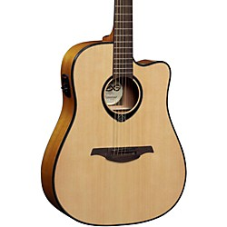 Lag Guitars T66DCE Dreadnought Cutaway Acoustic-Electric Guitar (T66DCE)