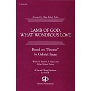 Fred Bock Music Lamb of God, What Wondrous Love SATB arranged by Allan Robert Petker