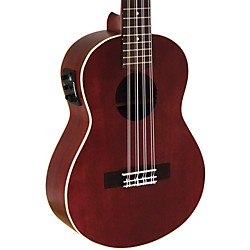 Lanikai All Mahogany 8-String Tenor Acoustic-Electric Ukulele (LU2-8EK)