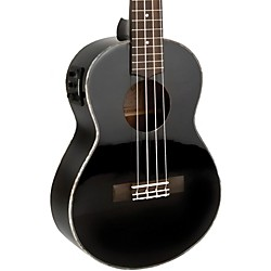 Lanikai All-Mahogany Acoustic-Electric Tenor Ukulele (LU2-21TEK/BK)