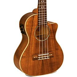 Lanikai Curly Koa Series CK-6EK 6-String Tenor Ukulele with Fishman Kula Electronics (CK-6EK)