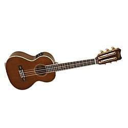 Lanikai LU Series LU-6EK 6-String Tenor Acoustic-Electric Ukulele with Fishman Kula Electronics (LU-6EK)