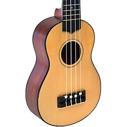 Lanikai Solid Spruce Top TunaUke Equipped Soprano Ukulele (SPTU-S)