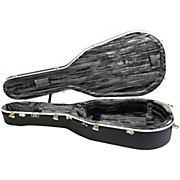 Hiscox Cases Large Liteflite Artist Classical - Black Shell/Silver Interior