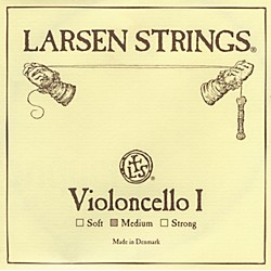 Larsen Strings Chromesteel Series Cello Strings (6LCA)