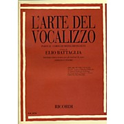 "Ricordi L'arte Del Vocalizzo The Art of the Vocalise "" Part II Soprano-tenor"