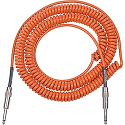 Lava Retro Coil 20 Foot Instrument Cable Straight-Straight Assorted Colors (LVARCOILOS)
