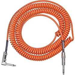 Lava Retro Coil 20 Foot Instrument Cable Straight to Right Angle (LVARCOILRO)