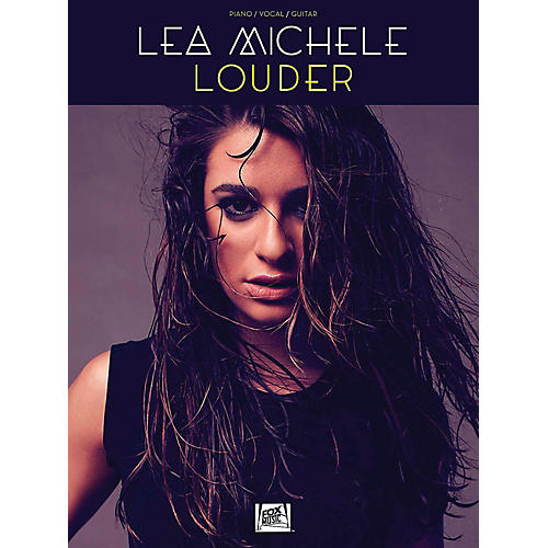 Hal Leonard Lea Michele - Louder for Piano/Vocal/Guitar-thumbnail