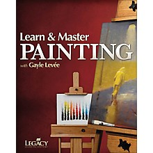 Legacy Learning Learn & Master Painting Consumer/Instructional/Gtr/DVD Series Written by Gayle Levée