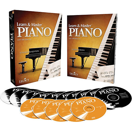 Hal Leonard Learn & Master Piano DVD/CD/Book Pack Legacy Of Learning Series-thumbnail