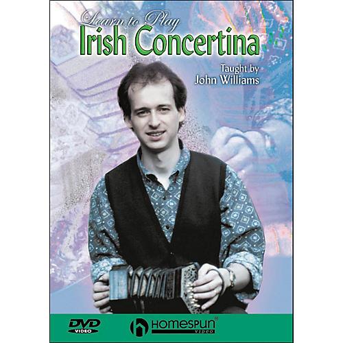 Homespun Learn To Play Irish Concertina (DVD)