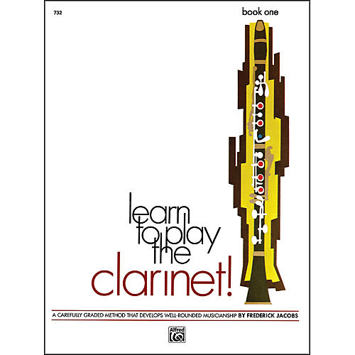 Alfred Learn to Play Clarinet! Book 1-thumbnail