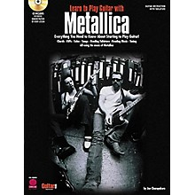Hal Leonard Learn to Play Guitar with Metallica Book/CD